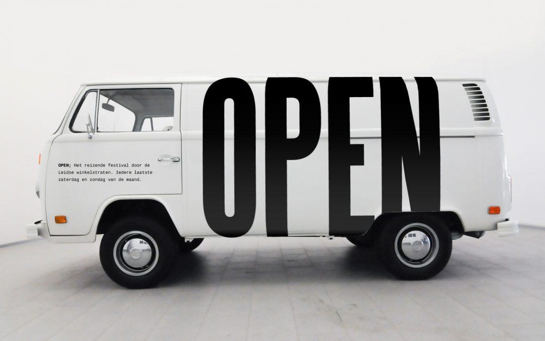 Leiden OPEN 2019; inschrijving tot 30 oktober