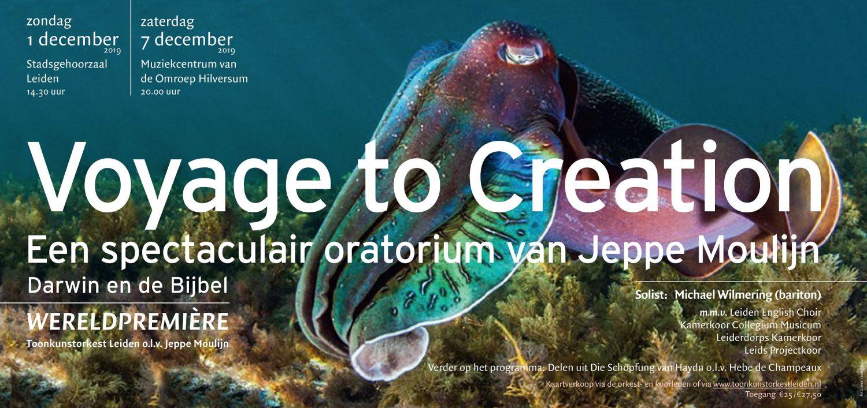 4 koren en Toonkunstorkest Leiden – Voyage to Creation