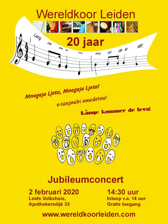 Jubileumconcert Wereldkoor Leiden