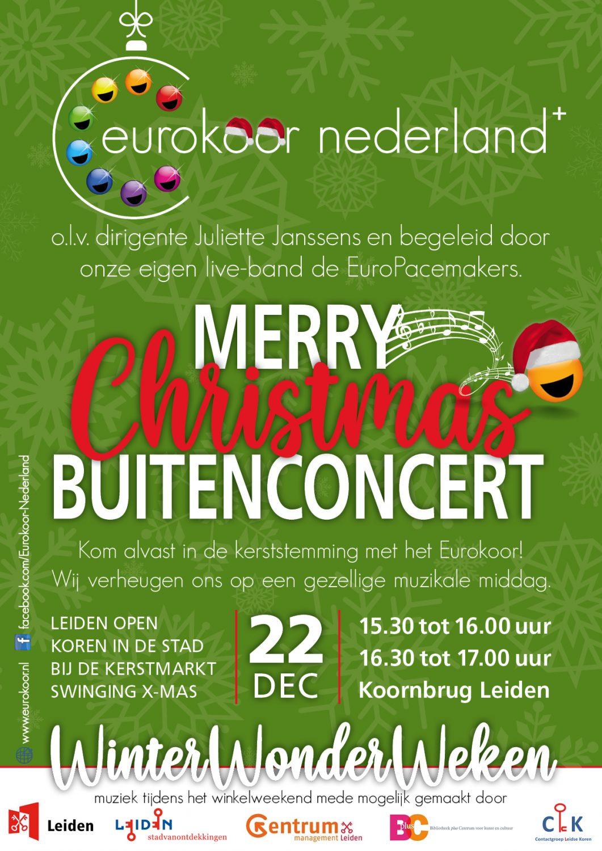 Optreden Leiden Open Kerst